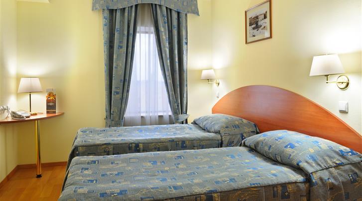 St. Petersburg, Hotel Dostoevsky, Standaard kamer