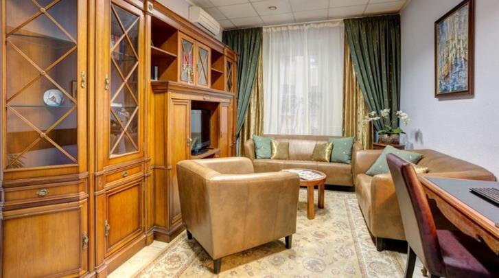 St. Petersburg, Hotel Kristoff, Lobby