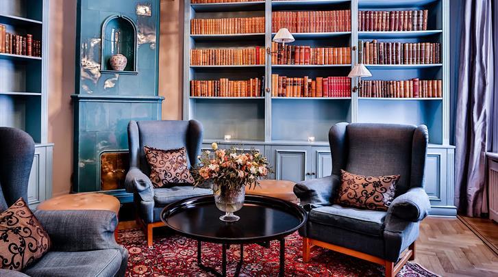 Stockholm, Hotel Drottning Kristina, Lobby