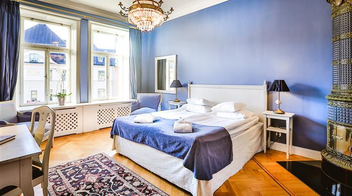 Stockholm, Hotel Drottning Kristina, Standaard kamer