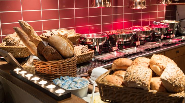 Stockholm, Hotel Freys, Ontbijt