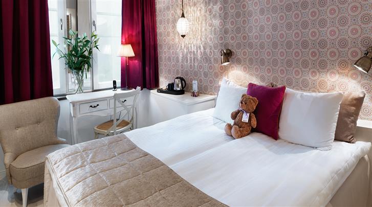Stockholm, Hotel Freys, Standaard kamer