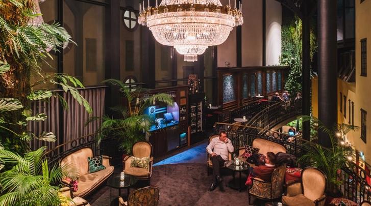 Stockholm, Hotel Kungsträdgården, Champagne bar