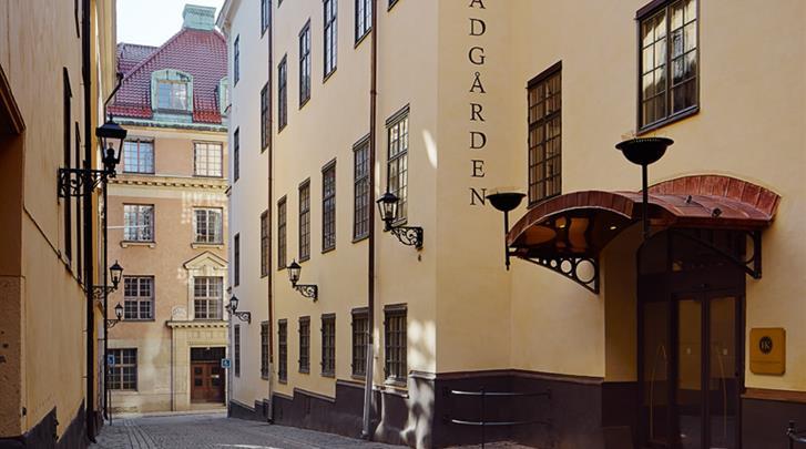 Stockholm, Hotel Kungsträdgården, Façade hotel
