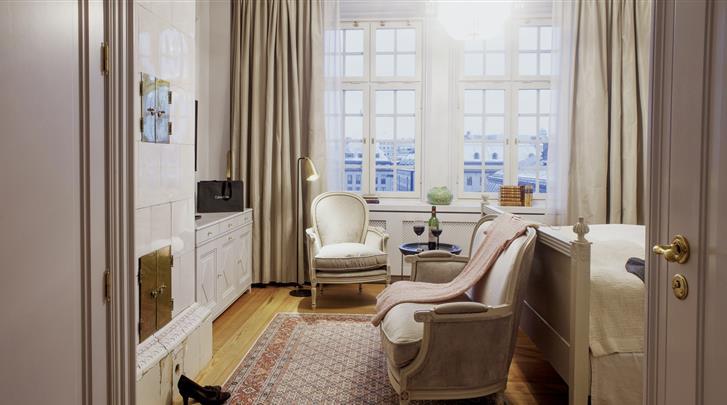 Stockholm, Hotel Kungsträdgården, Queen Kamer