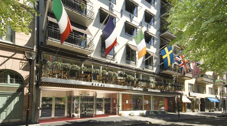 Stockholm, Hotel Rival, Façade hotel