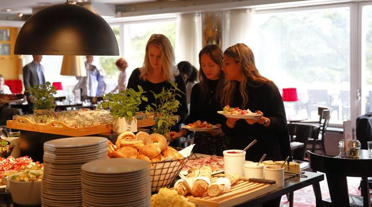 Stockholm, Hotel Rival, Ontbijtbuffet