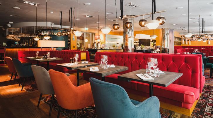 Stockholm, Hotel Rival, Restaurant