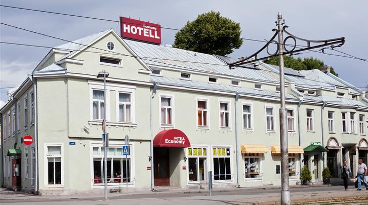 Tallinn, Hotel Economy, Façade hotel