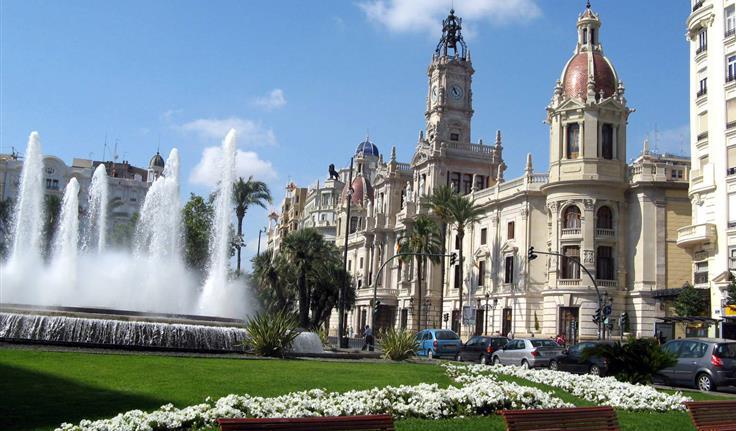 Valencia, Ayuntamiento, het stadhuis