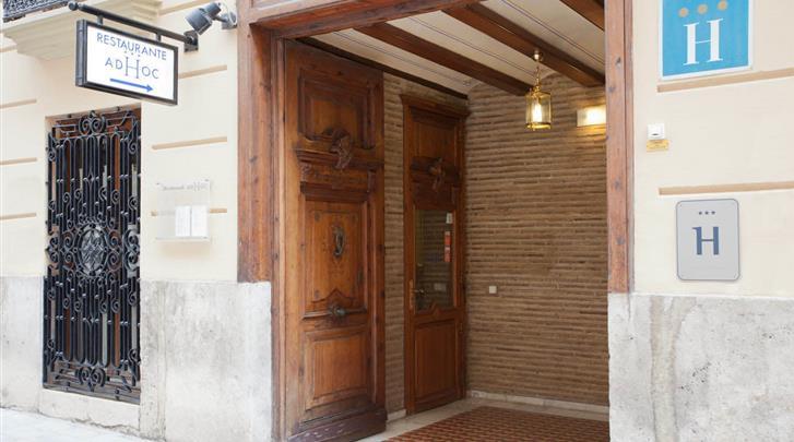 Valencia, Hotel Ad Hoc Monumental, Entree