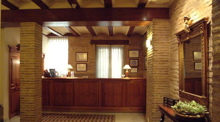 Valencia, Hotel Ad Hoc Monumental, Receptie