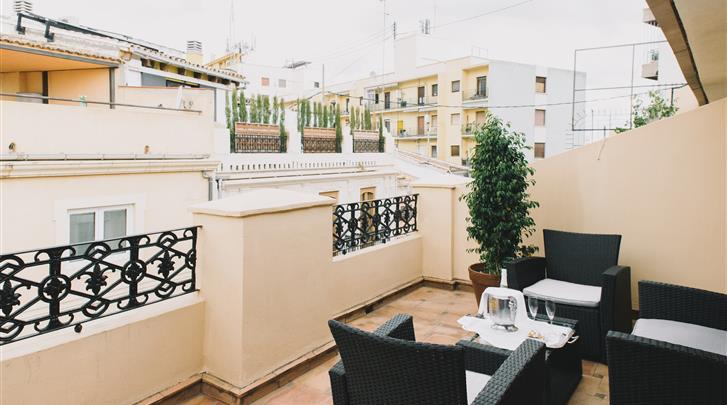 Valencia, Hotel Ad Hoc Monumental, Terras