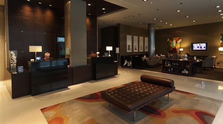 Valencia, Hotel Conqueridor, Lobby