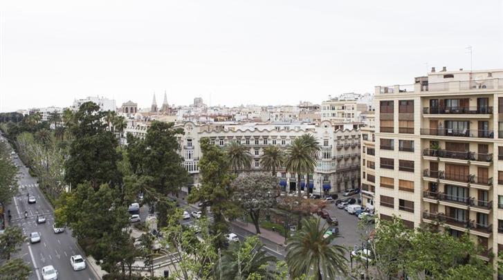 Valencia, Hotel Dimar Atiram, Uitzicht
