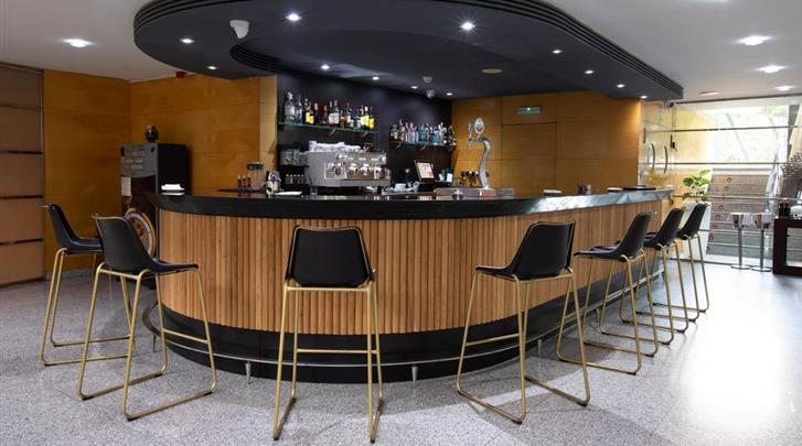 Valencia, Hotel Eurostars Acteon, Hotelbar
