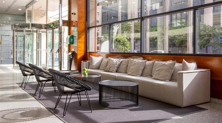Valencia, Hotel Eurostars Acteon, Lobby