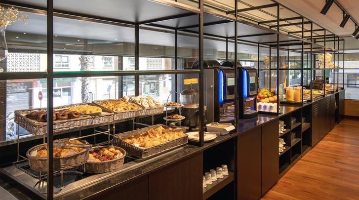 Valencia, Hotel Eurostars Acteon, Ontbijtbuffet
