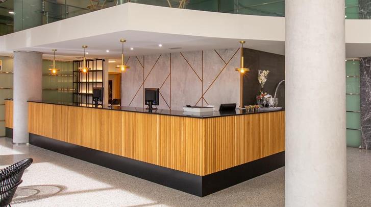 Valencia, Hotel Eurostars Acteon, Receptie