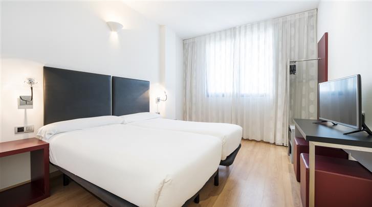 Valencia, Hotel Ilunion Aqua 3, Standaard kamer
