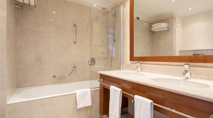 Valencia, Hotel Ilunion Aqua 4, Badkamer