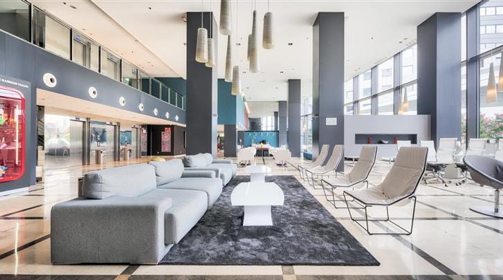 Valencia, Hotel Ilunion Aqua 4, Lobby