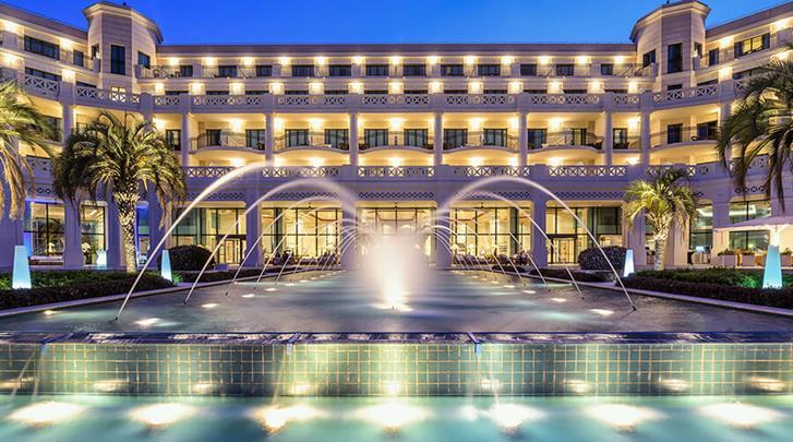 Valencia, Hotel Las Arenas Balneario Resort, Façade hotel
