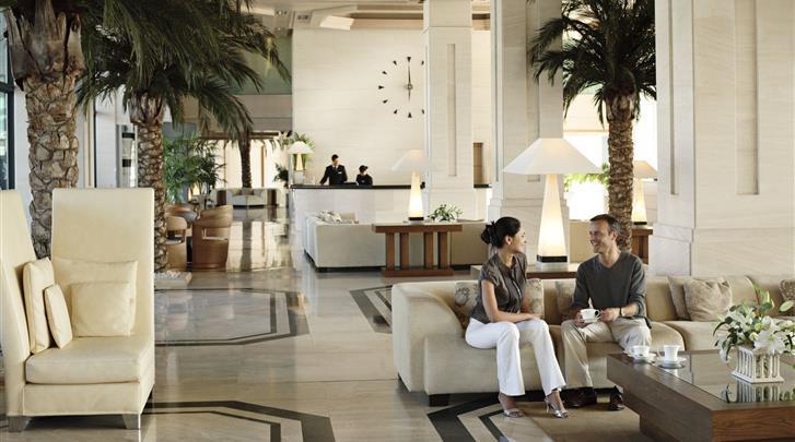 Valencia, Hotel Las Arenas Balneario Resort, Receptie