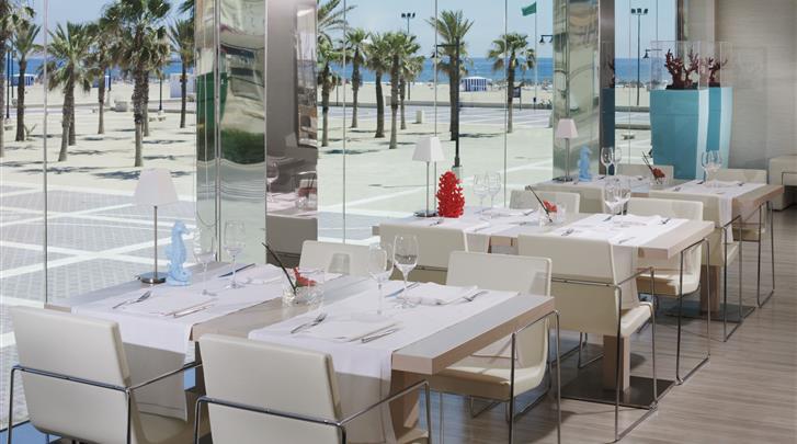 Valencia, Hotel Las Arenas Balneario Resort, Restaurant