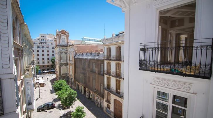 Valencia, Hotel Petit Palace Plaza de la Reina, Ligging hotel
