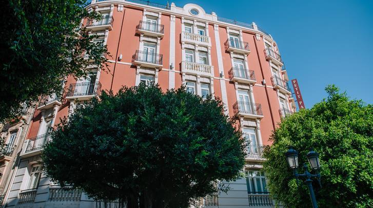 Valencia, Hotel Petit Palace Ruzafa, Façade hotel