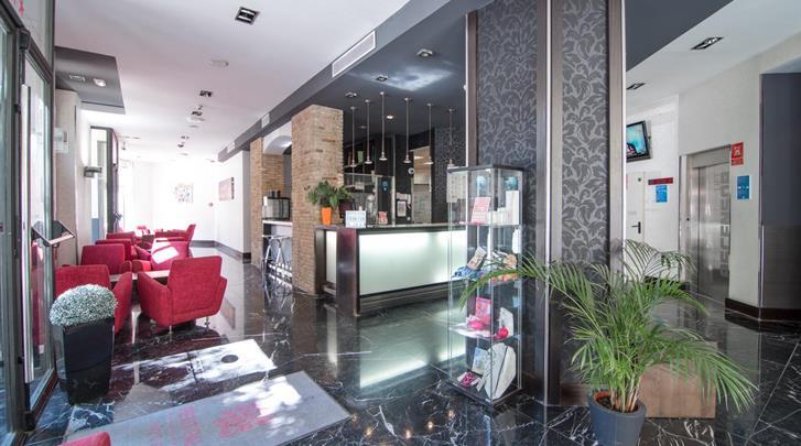 Valencia, Hotel Petit Palace Ruzafa, Hotel bar