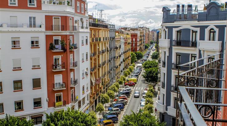 Valencia, Hotel Petit Palace Ruzafa, Ligging hotel