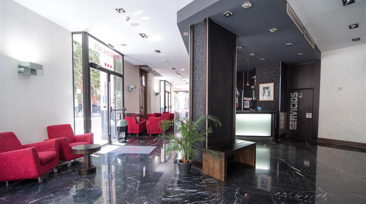 Valencia, Hotel Petit Palace Ruzafa, Lobby