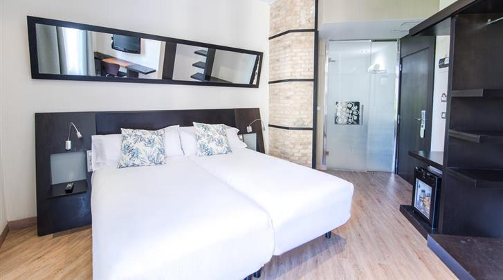 Valencia, Hotel Petit Palace Ruzafa, Standaard kamer