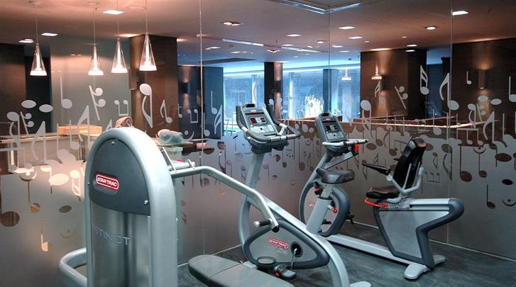 Valencia, Hotel Primus, Fitnessruimte
