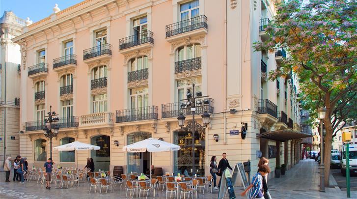 Valencia, Hotel SH Inglés Boutique, Façade hotel