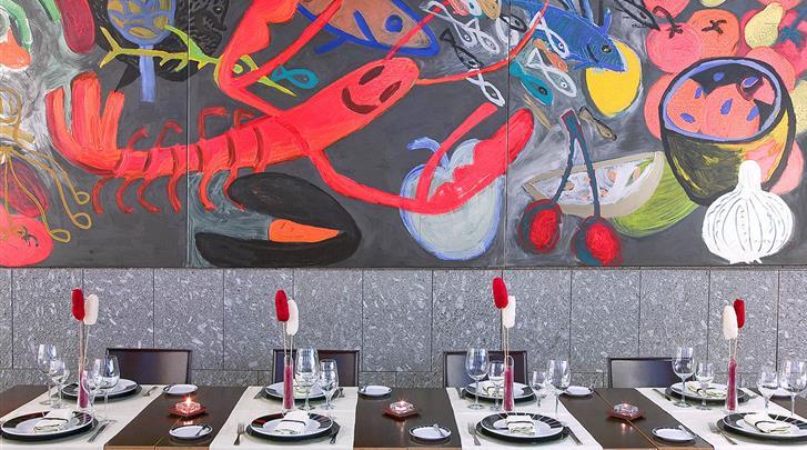 Valencia, Hotel Silken Puerta Valencia, Restaurant