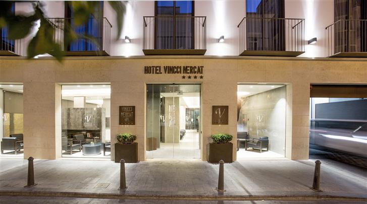 Valencia, Hotel Vincci Mercat, Façade hotel