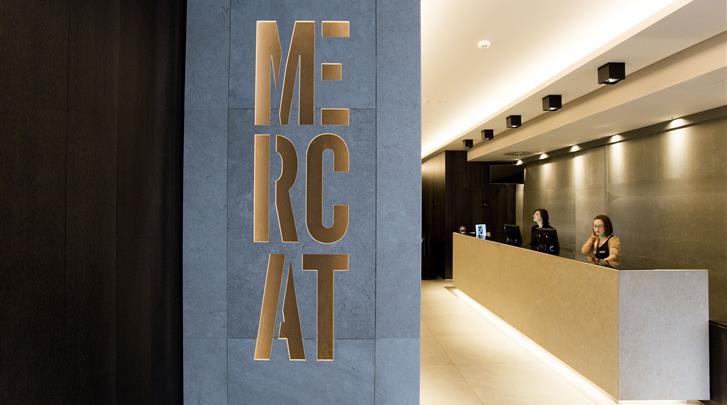 Valencia, Hotel Vincci Mercat, Receptie