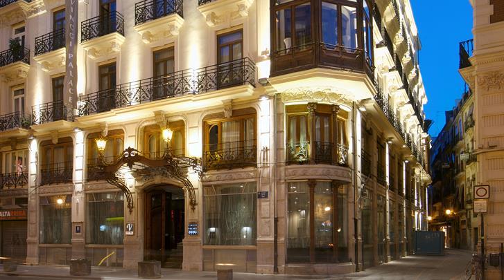 Valencia, Hotel Vincci Palace, Façade hotel