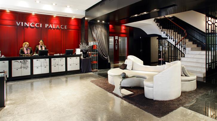 Valencia, Hotel Vincci Palace, Lobby