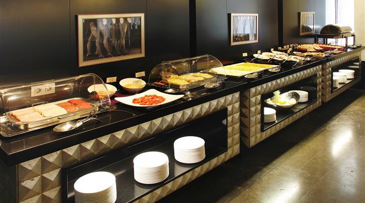 Valencia, Hotel Vincci Palace, Ontbijtbuffet