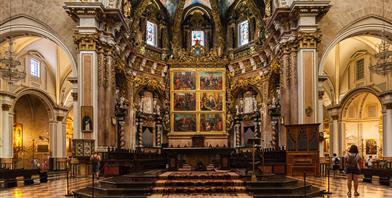 Valencia, Kathedraal La Seo