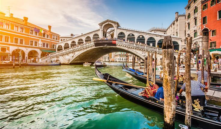 Venetië, de Rialto brug