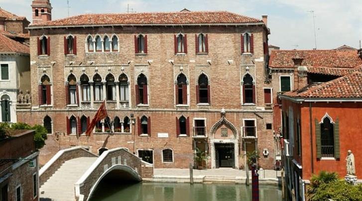 Venetië, Hotel Al Sole, Façade hotel