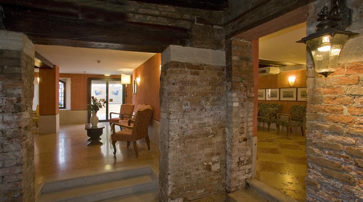 Venetië, Hotel Al Sole, Lobby