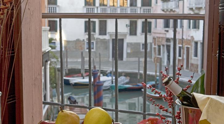 Venetië, Hotel Al Sole, Uitzicht