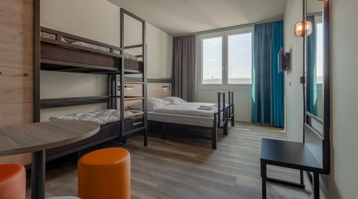 Venetië, Hotel AO Venice-Mestre II, Familiekamer