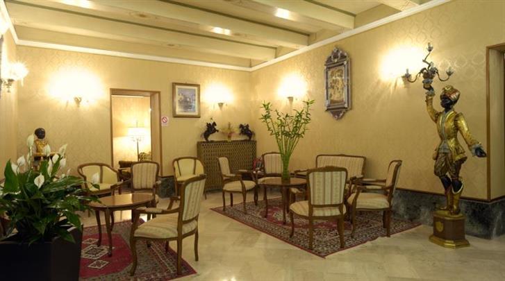 Venetië, Hotel Basilea, Lobby